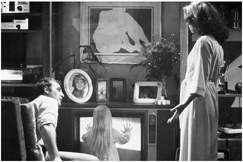 The 1982 horror movie Poltergeist, starring Craig T. Nelson, Heather O