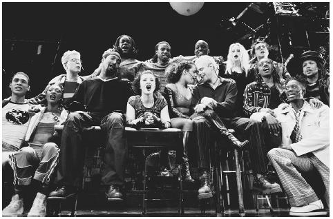 The pop musical Rent (1996) used the musical-theater version of La Bohème as its backbone, with similar themes of the AIDS epidemic, and artists, prostitutes, and homosexual characters living in New York's East Village. Sadly, Jonathan Larson, Rent's creator, died of an aneurysm between the dress rehearsal and opening night. ROBBIE JACK/CORBIS